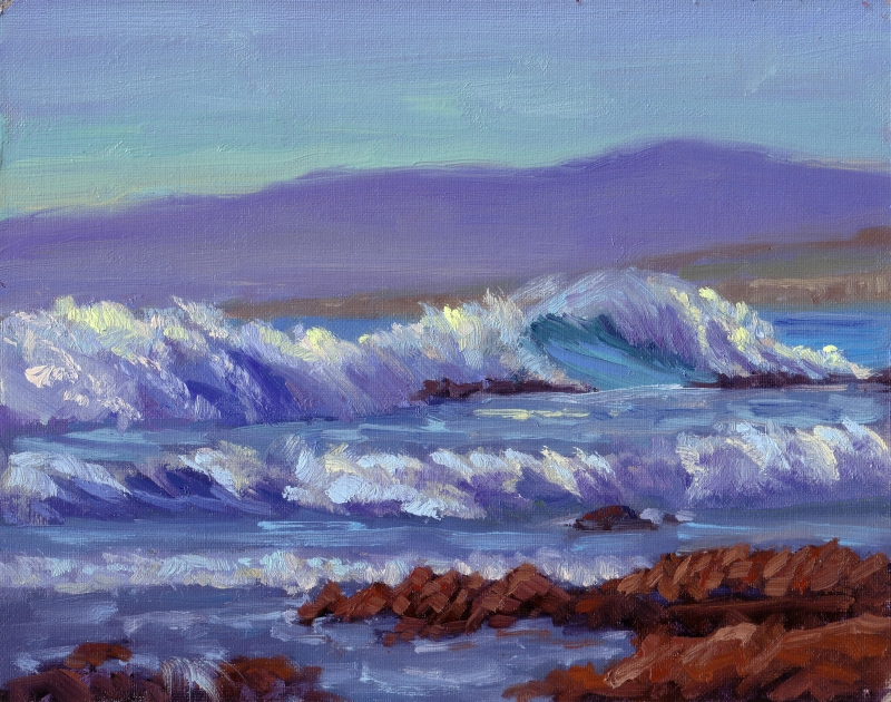 Observation 6 the anatomy of nature life plein air ive done this with ocean waves quite a bit ccuart Gallery