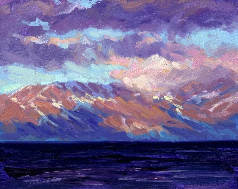 Cloud Burst (Lake Tahoe)