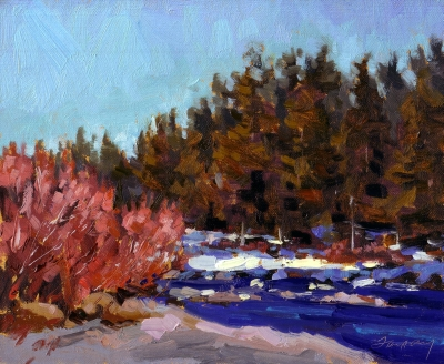 Truckee River, Winter