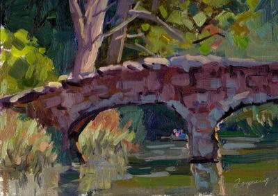 Stowe Lake Bridge
