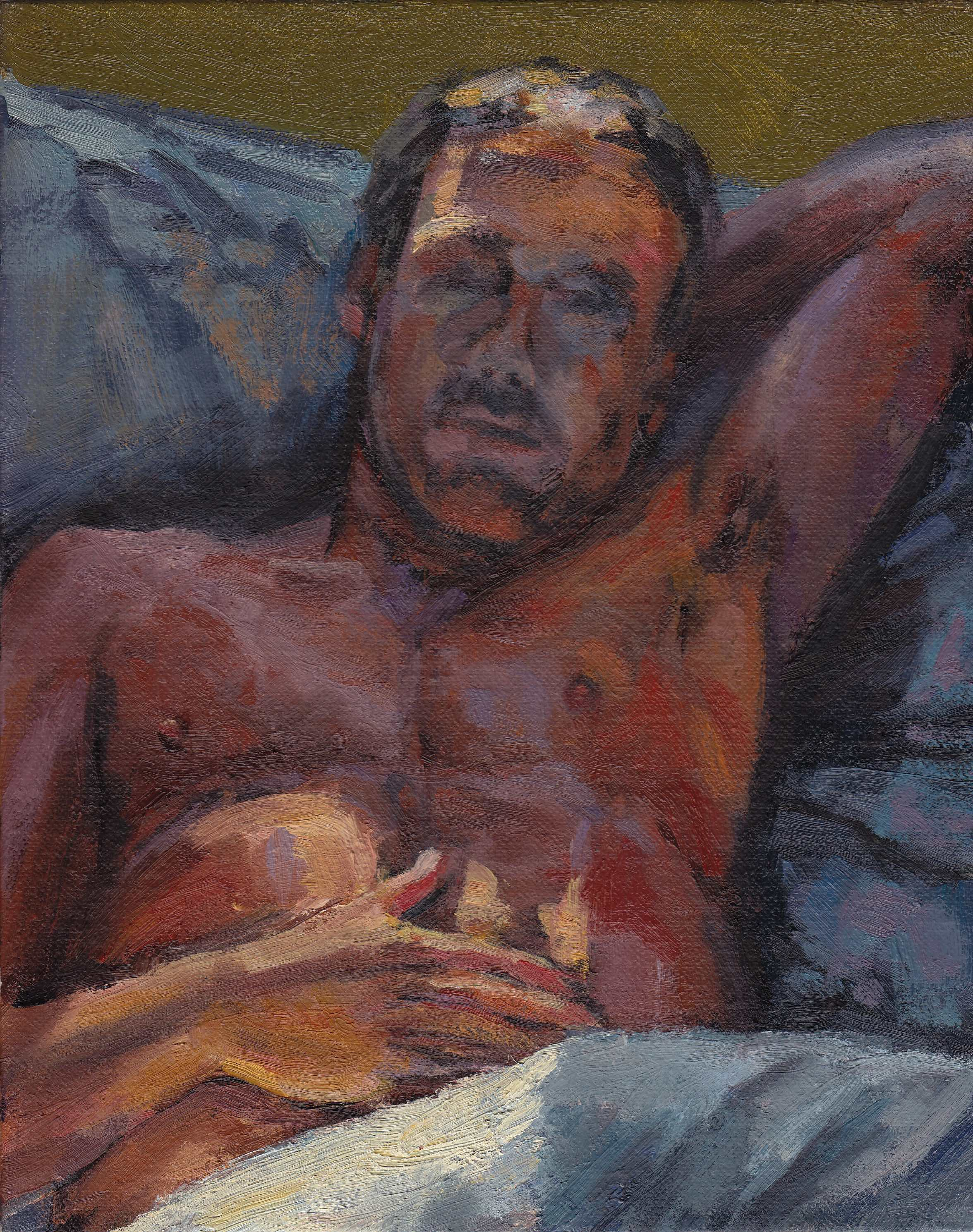 Figure Study (in bed)