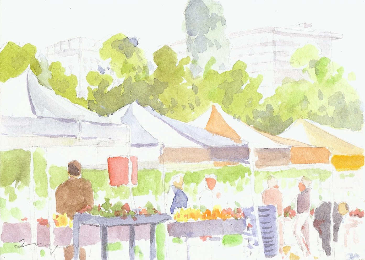 Embarcaderro Farmers Market
