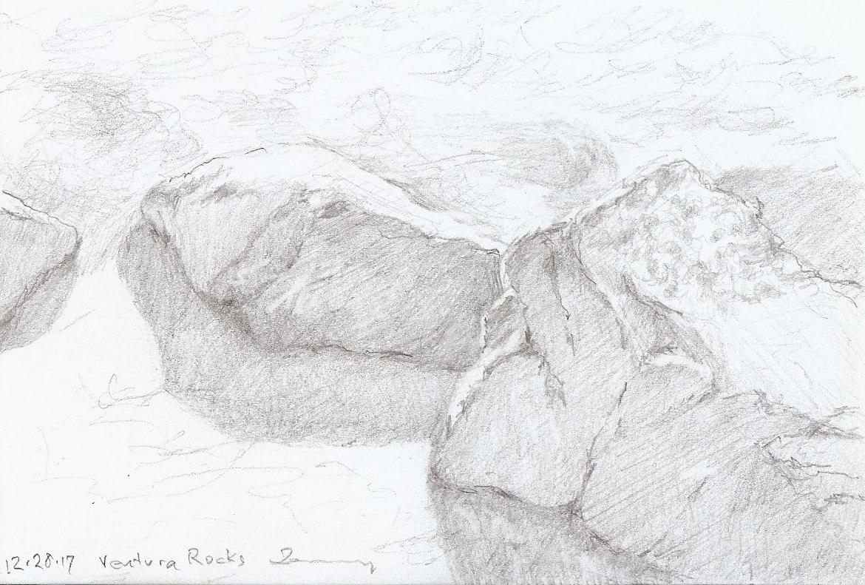 Seaside Rocks Ventura
