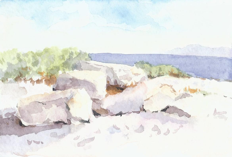 Near Ventura Marsh Rock Study