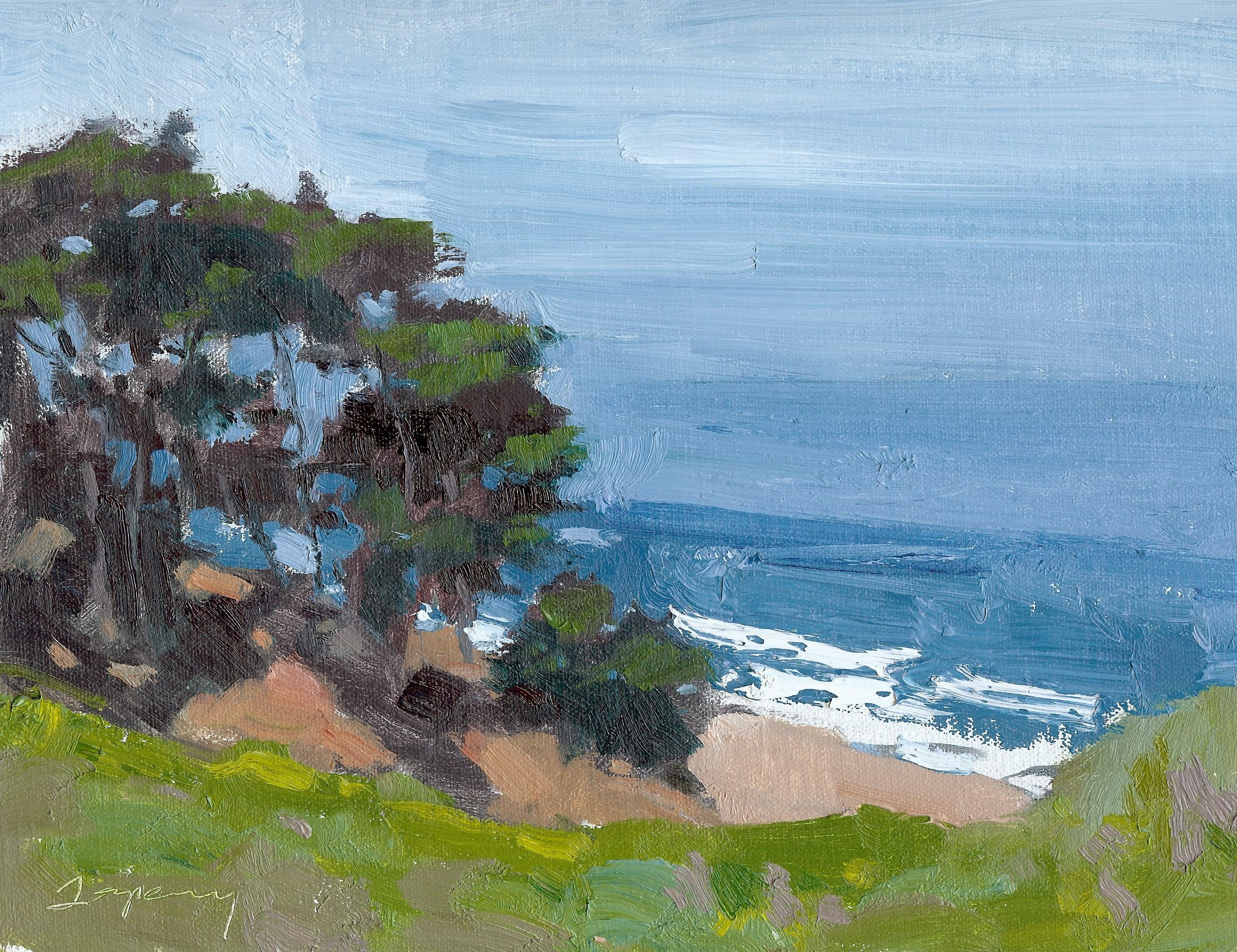 Lands End (plein air)