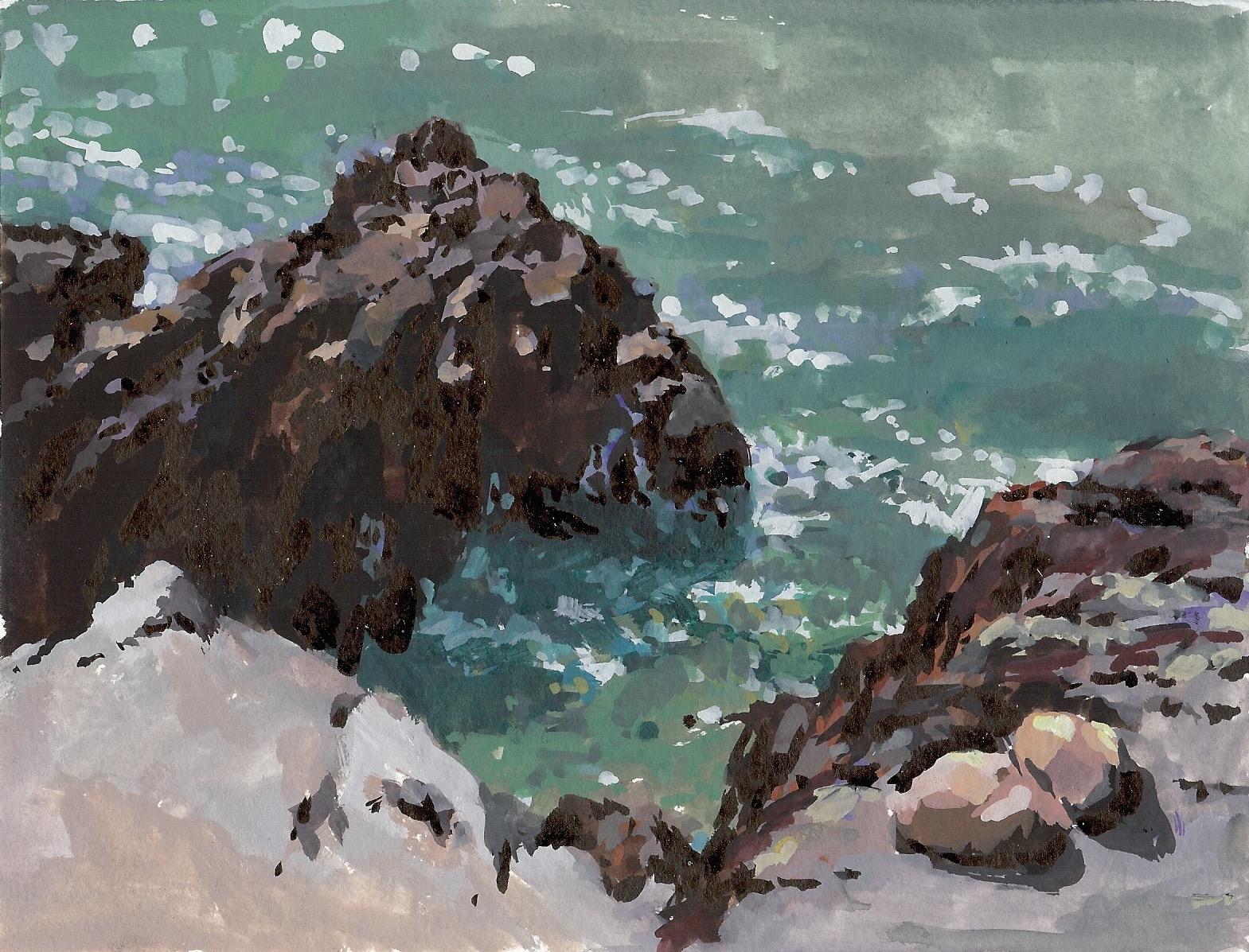 Moss Beach Rocks