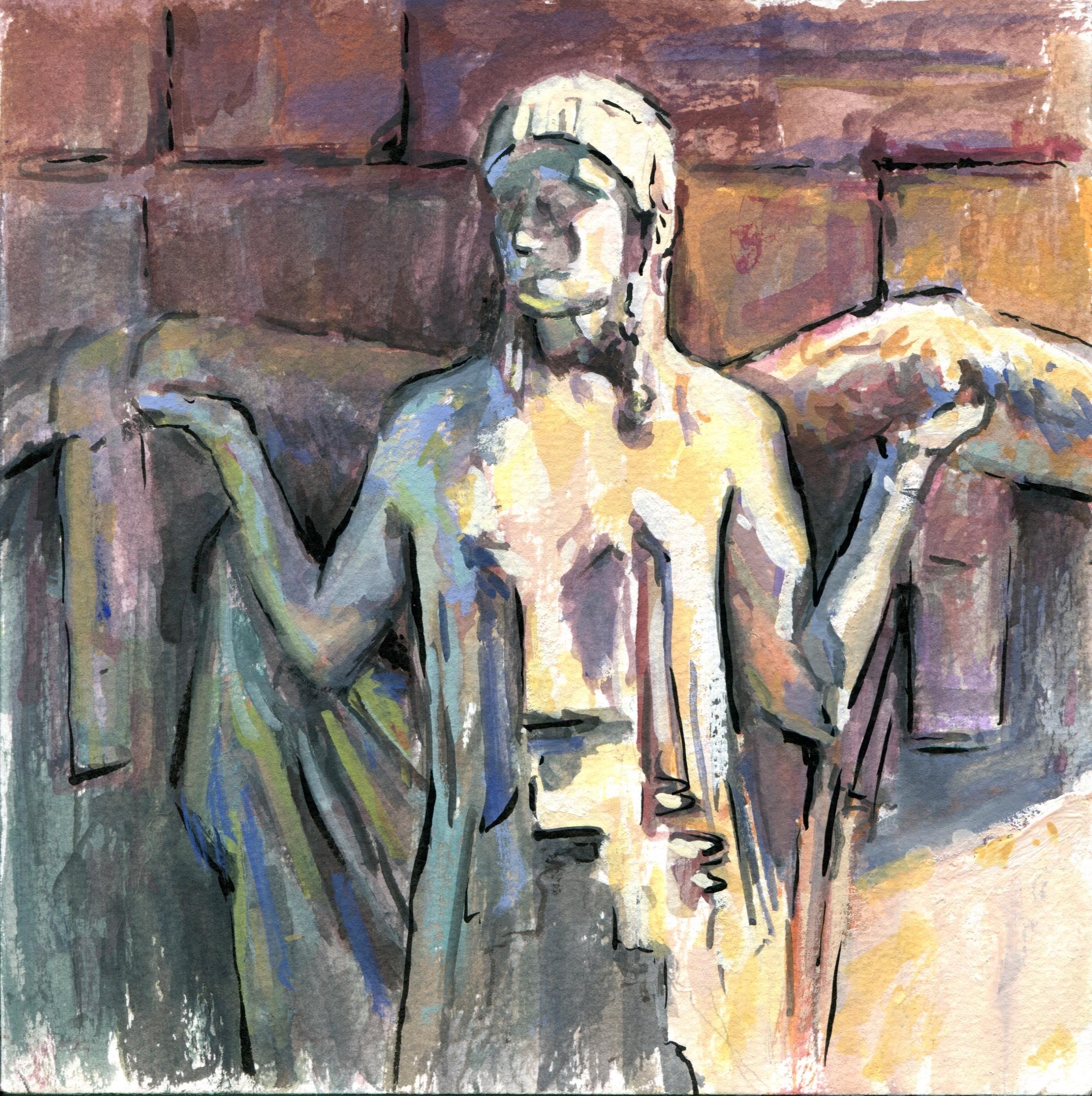 Palace of Fine Arts Statue