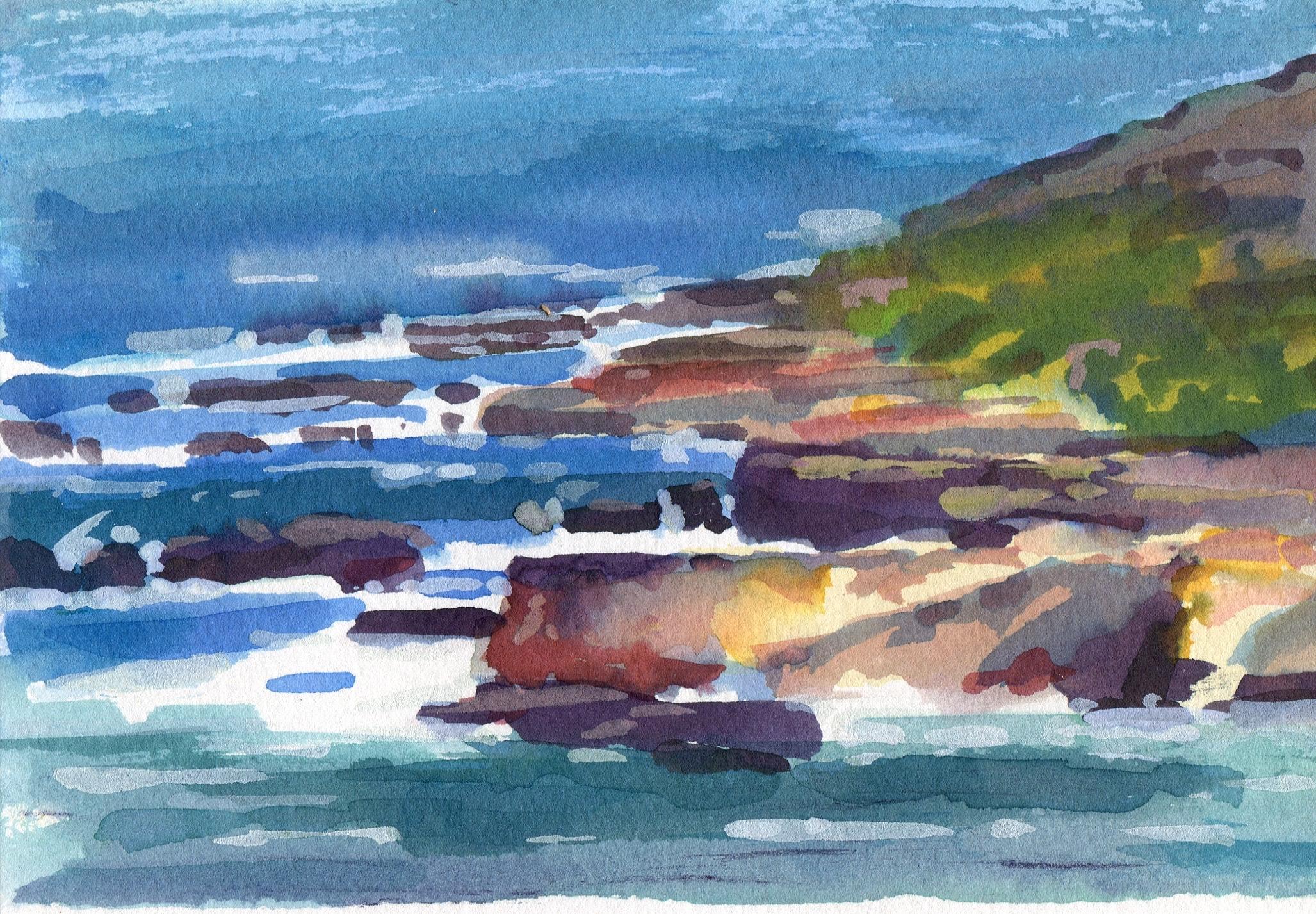 California Rocks & Surf