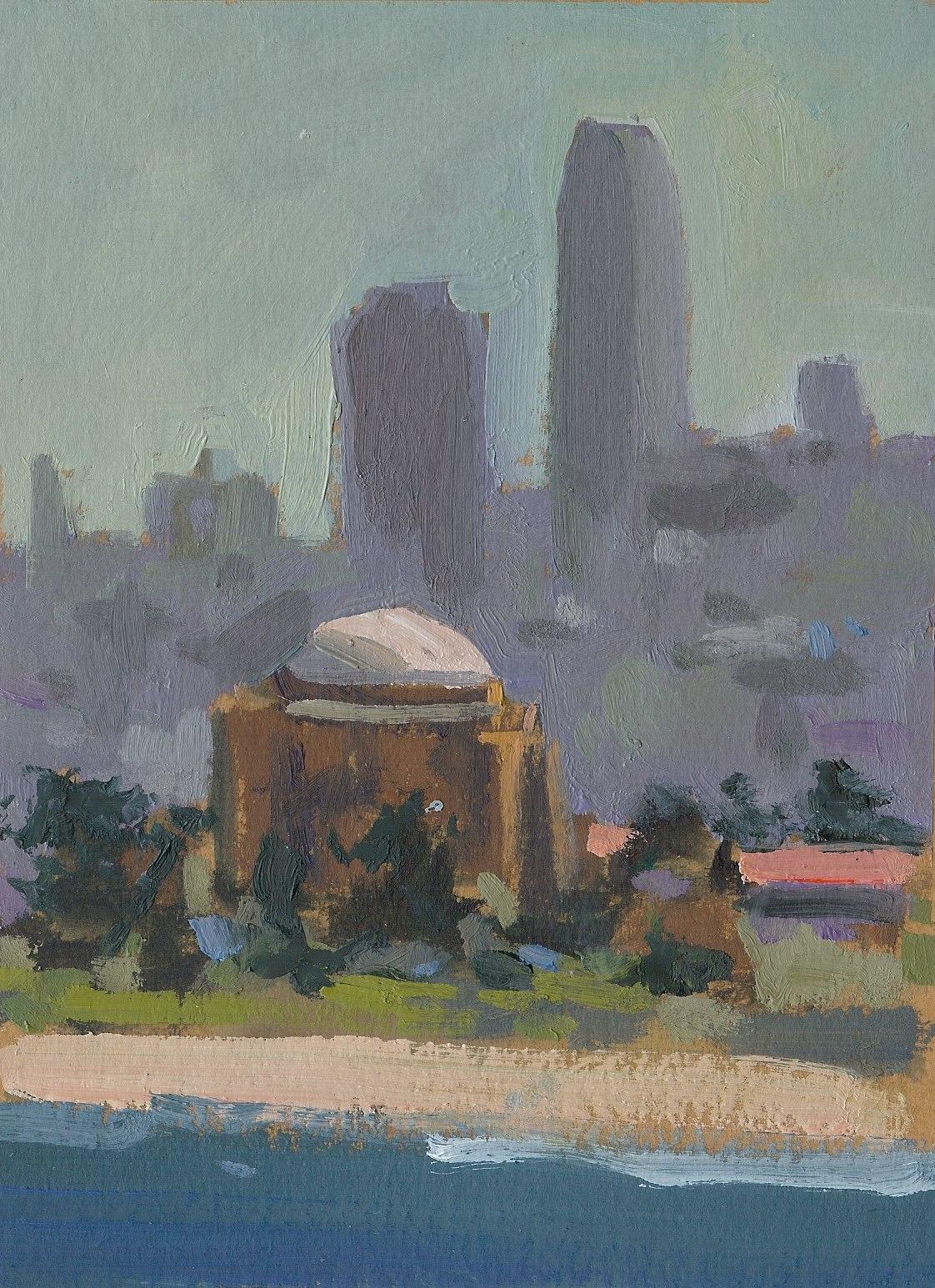 San Francisco Skyline Study