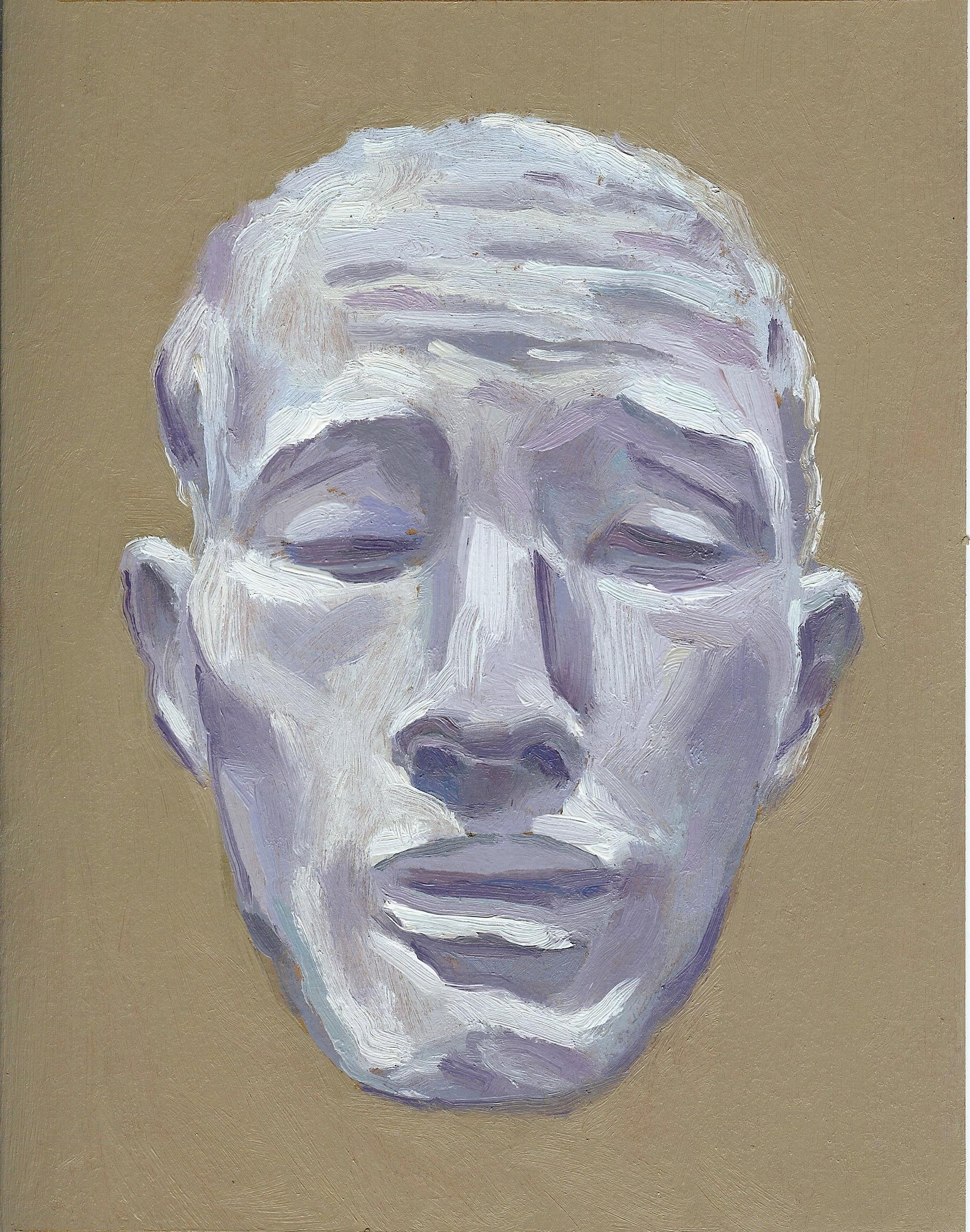 Head Study (after Auguste Rodin, Head of Pierre de Wiessant)