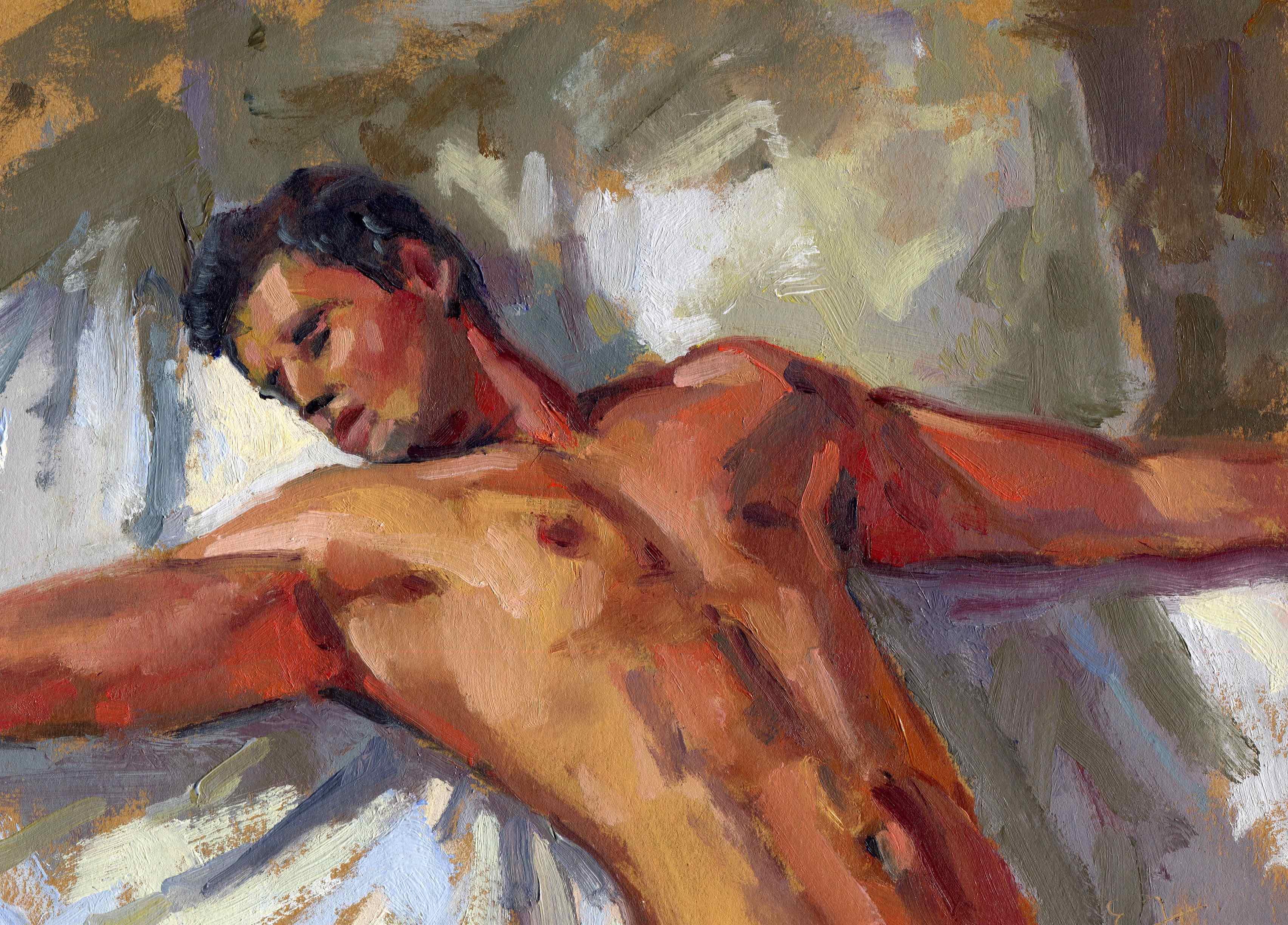 Stretch in Bed