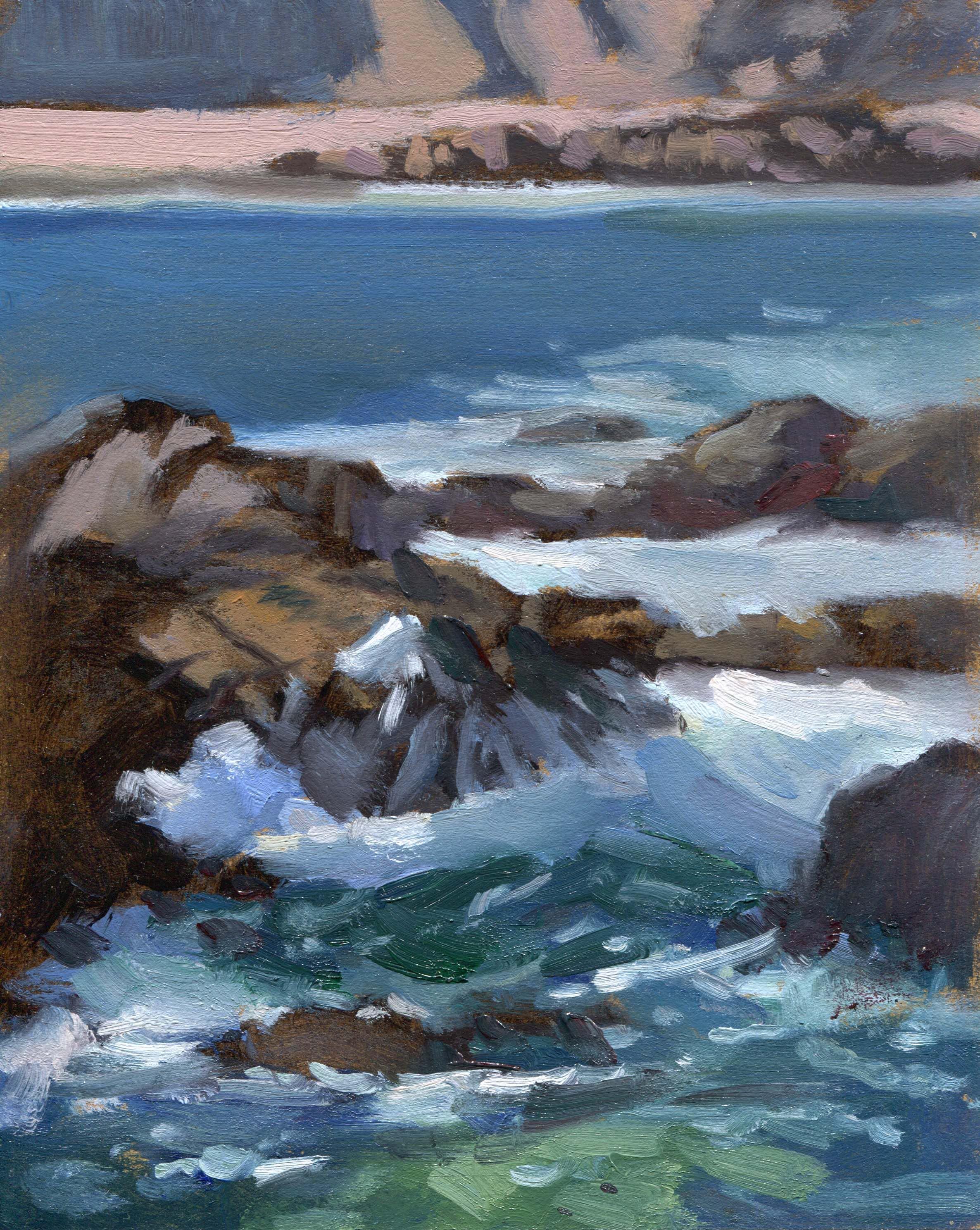 Pacific Grove Rocks & Surf