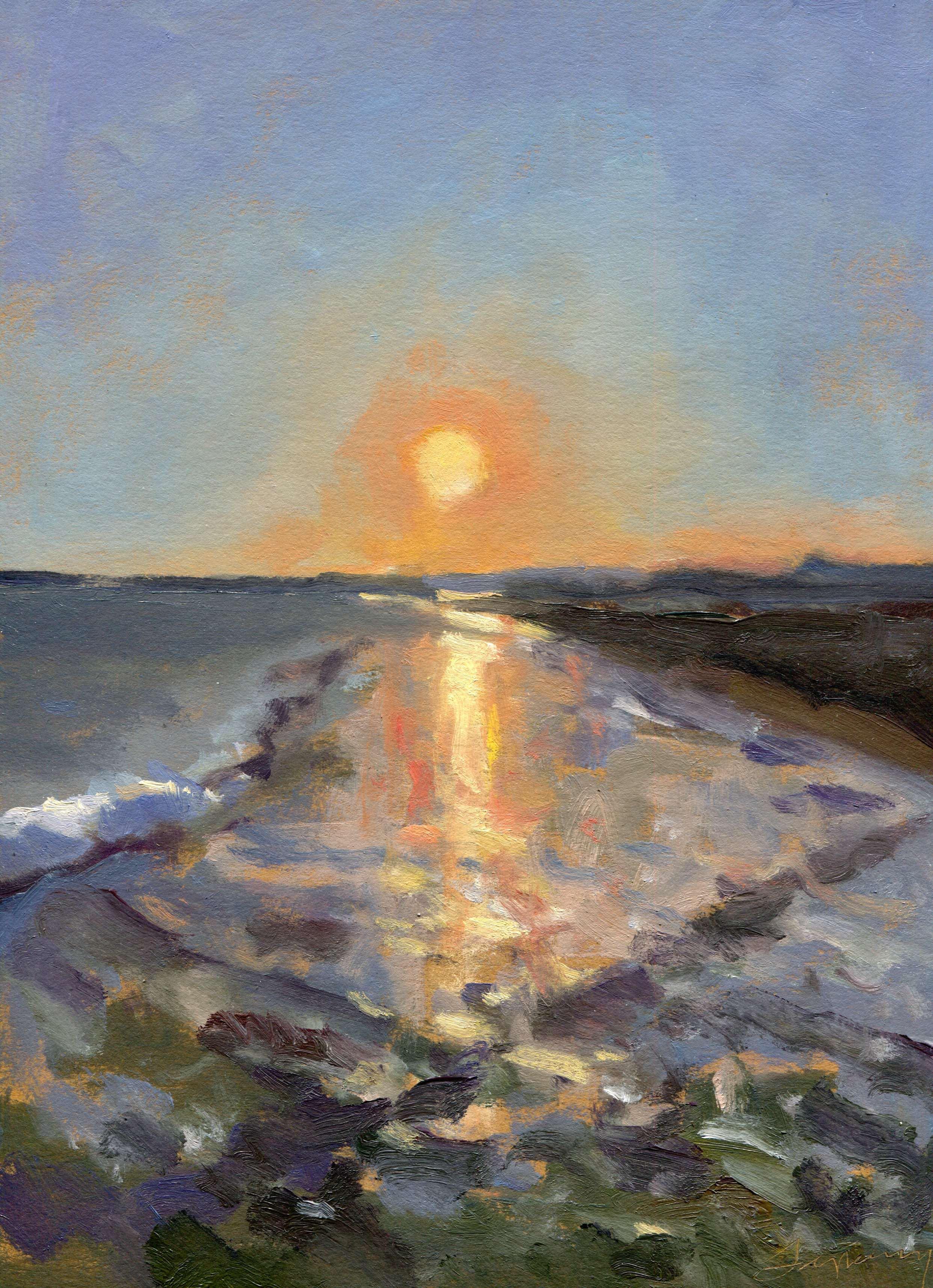 Surfers Point Sunset