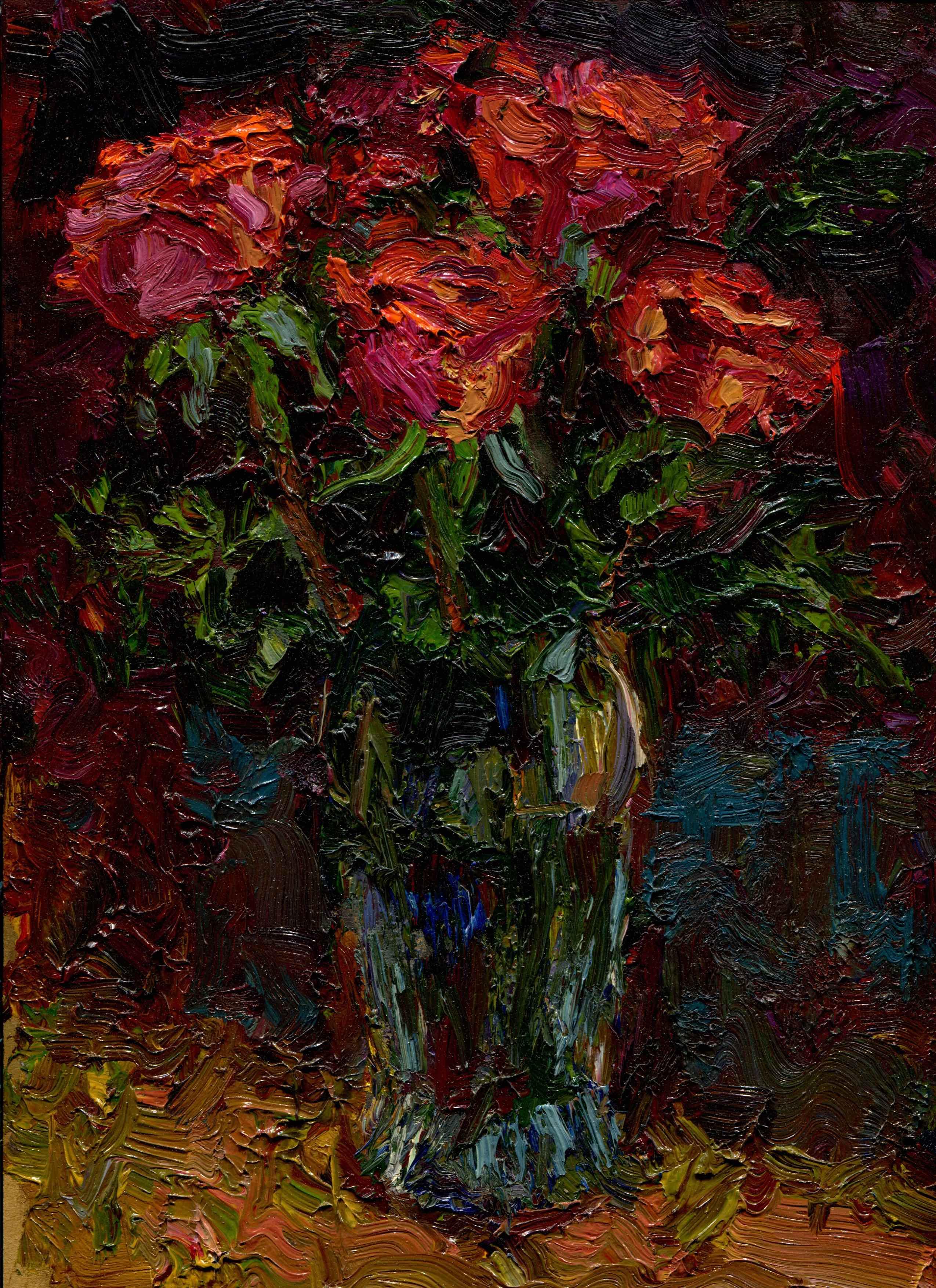 Flowers Empasto