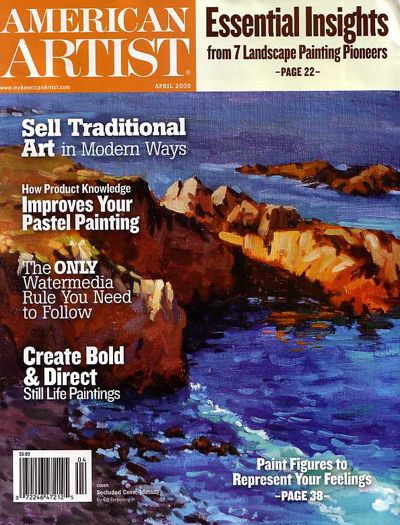 American-Artist-April-2009-Cover-Issue