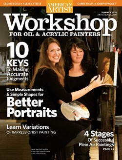 American Artist Workshop Magazine Summer Edition