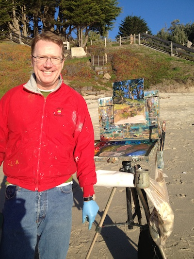 Ed Terpening (at Fitzgerald Marine Preserve, Half Moon Bay, CA - 1/12/2013)