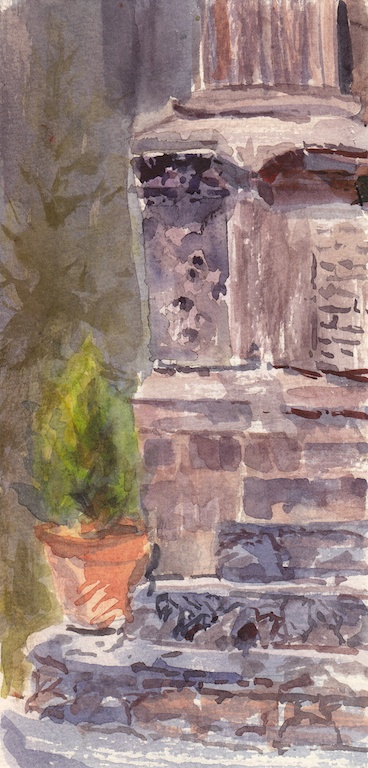 San Miguel de Allende, Watercolor