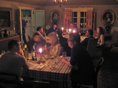 Artist's Dinner at TImberfield